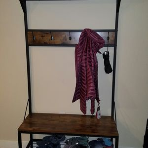 Hall Tree With Shoe Storage for Sale in Oklahoma City, OK