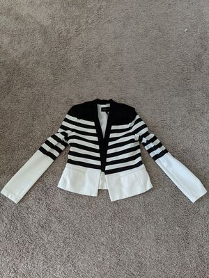 Women's black and white dress jacket for Sale in Round Rock, TX