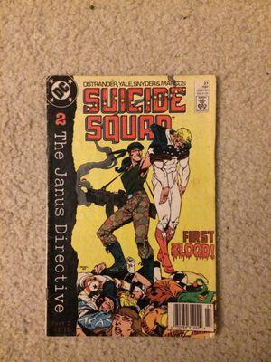 SUICIDE SQUAD COMIC BOOK for Sale in Oldsmar, FL