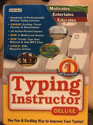 Typing Instructor DVD for Sale in Gilroy, CA
