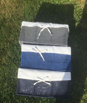Storage bins- blue , navy blue and gray $15 for Sale in Chula Vista, CA