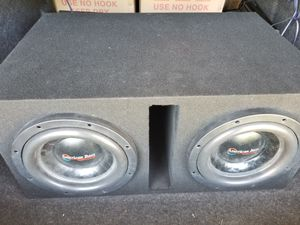 American bass xfl 10 inch subwoofers in Competition box for Sale in Columbus, OH