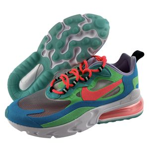 Nike Women's Air Max 270 React Electro Green Flash Crimson [AT6174 300] Size 6 for Sale in Henderson, NV