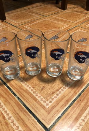 Broncos Collection Glasses for Sale in Denver, CO