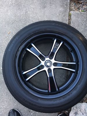 18 in Konig Rims and tires for Sale in Land O Lakes, FL