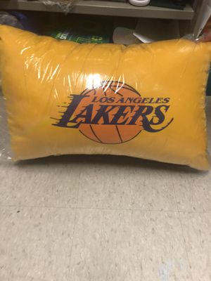 Lakers pillows 2 pack for Sale in Downey, CA