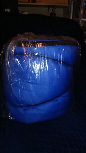 Blue sleeping bag for Sale in Baltimore, MD