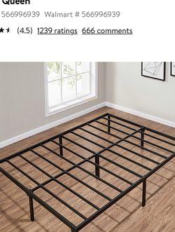 Queen Metal Slat Bed Frame (missing 1 Slat) for Sale in Brier,  WA