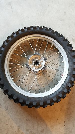 Honda Crf motorcycle rims 125 250 or 450 for Sale in Fresno, CA