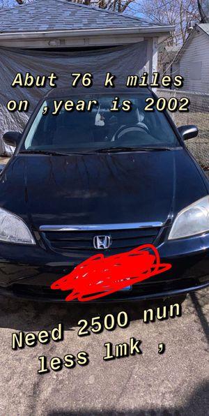 Honda Civic 2002 for Sale in Aurora, IL