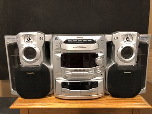 Panasonic SA-AK29 5 CD Stereo AM/FM Tuner for Sale in Newport, KY