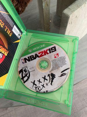 Xbox one 2k19 for Sale in Laguna Niguel, CA