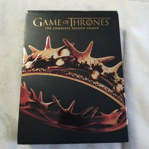 Game of Thrones complete 2nd season for Sale in Seattle, WA