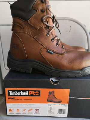 Brand new timberlands pro titan alloy safety toe size 11.5 for Sale in Riverside, CA