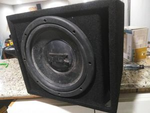 Mtx subwoofer and box for Sale in Sanford, FL