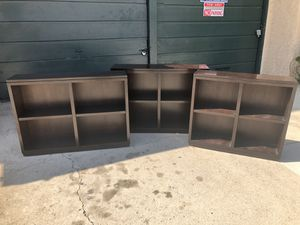 Mahogany book shelves for Sale in Los Angeles, CA