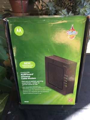 Motorola Surfboard Extreme Gaming Modem for Sale in San Diego, CA