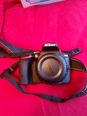 Nikon d5500 dlsr camera 3 lenses plus accessories for Sale in San Jose, CA