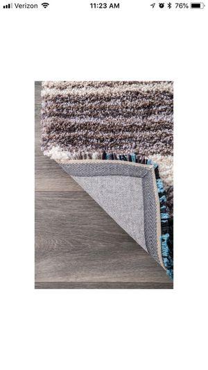 Blue/tan/white/black 5x8 rug for sale for Sale in Portsmouth, VA