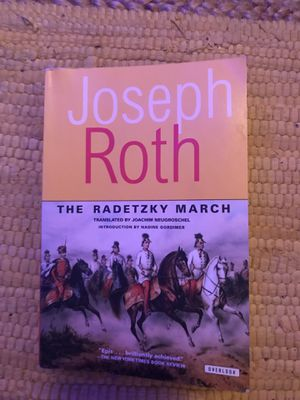 The Radetzky march by Joseph Roth got for global trans lit class at the u for Sale in Salt Lake City, UT