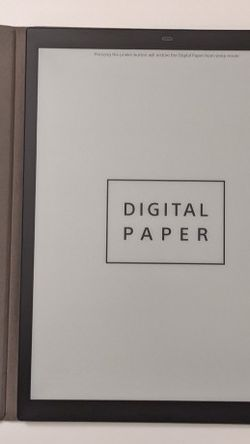 """Sony DPT-RP1 13.3"""" 16GB Digital Paper System for Sale in Queens,  NY"""