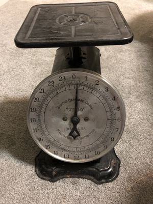 """Simmons Hardware Co """"Sterling"""" kitchen scale for Sale in Seattle, WA"""