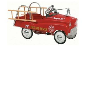 FIRE & RESCUE TRUCK PEDAL CARS NEW IN BOX for Sale for sale  New York, NY