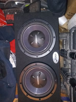 2 brand new kenwood 10s in a box for Sale in Fresno, CA