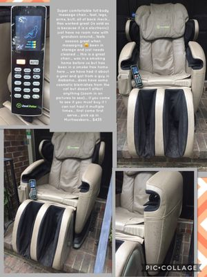 Super comfortable full body massage chair... feet, legs, arms, butt, all of back /neck... Has worked great (is sold as is because it is a electronic) for Sale in Murfreesboro, TN