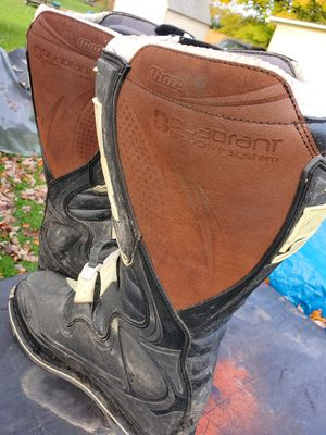Thor riding boots motocross dirt bike ITS STILL AVAILABLE IF YOU'RE READING THIS for Sale in LaGrange, OH