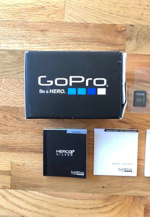 GoPro 3+ Silver for Sale in Mercer Island, WA