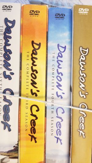 DAWSON CREEK DVD SEASON 1 3 4 AND 6 for Sale in Chantilly, VA