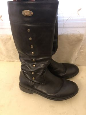 Michael kors High Brown boots girls size 2 for Sale in Garfield, NJ