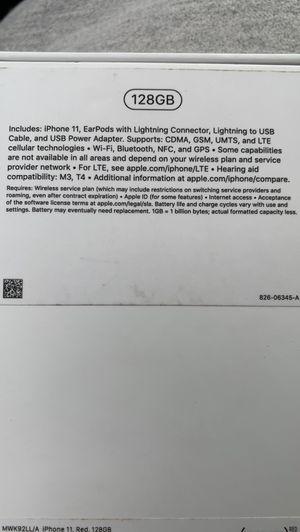 iPhone 11 128gb for Sale in Phoenix, AZ
