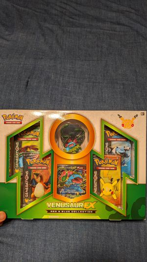 Pokemon Red and Blue Collections: Venusaur for Sale in Denton, TX
