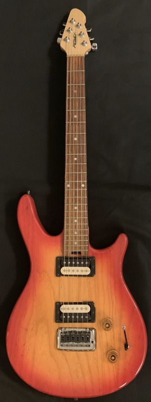 Peavey USA Made Firenze AX HH Cherry Red Sunburst Electric Guitar for Sale in La Puente, CA