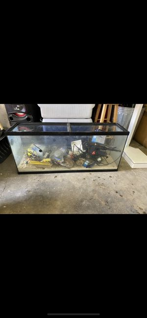 55 gallon salt water aquarium for Sale in West Valley City, UT