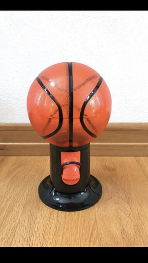 Basketball candy dispenser for Sale in Appleton, WI