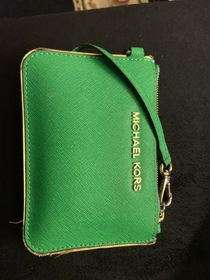 Michael Kors green wallet for Sale in Detroit, MI