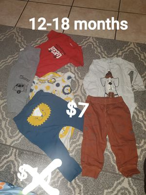 Baby boy clothing for Sale in Santa Maria, CA