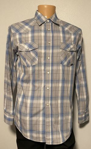 Long Sleeve Coastal Button Up Shirt Large for Sale in Tacoma, WA