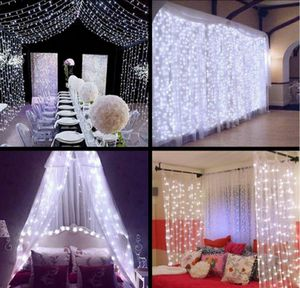 10 pcs LED Icicle Curtain String 300 Lights Decor for Sale in Los Angeles, CA