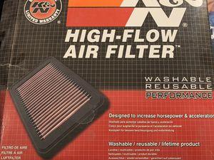 K&N High Flow Air Filter, for Mazda, part number 33-229 for Sale in Austin, TX