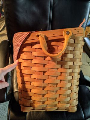 Longaberger basket for Sale in Greensburg, PA
