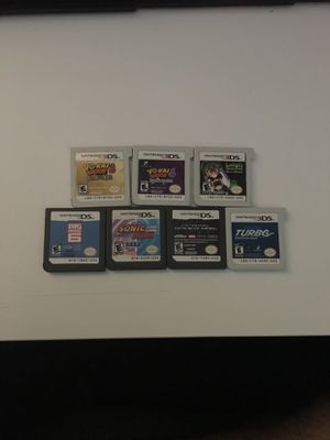 7 games for Nintendo DS and 3DS for Sale in Hialeah, FL