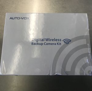 Interference Digital Wireless Backup Camera System Kit with Built-in Transmitter, IP68 Waterproof Wireless Rear View Camera and 4.3'LCD Wireless Rev for Sale in Lorton, VA