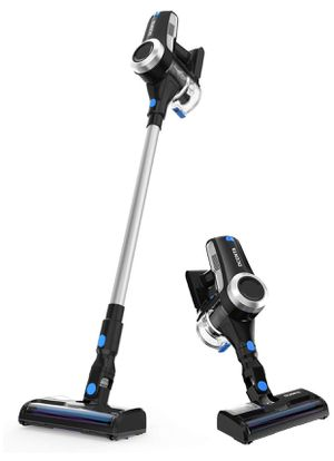 Dcenta Cordless Vacuum Cleaner, Stick Vacuum Cleaner 20KPa with 350W Digital Motor, 2 in 1 Handheld Vacuum for Deep Clean and Pet Owner for Sale in Barre, VT