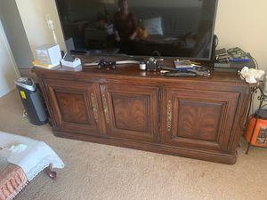 TV cabinet for sale 100$ for Sale in Fairfax, VA