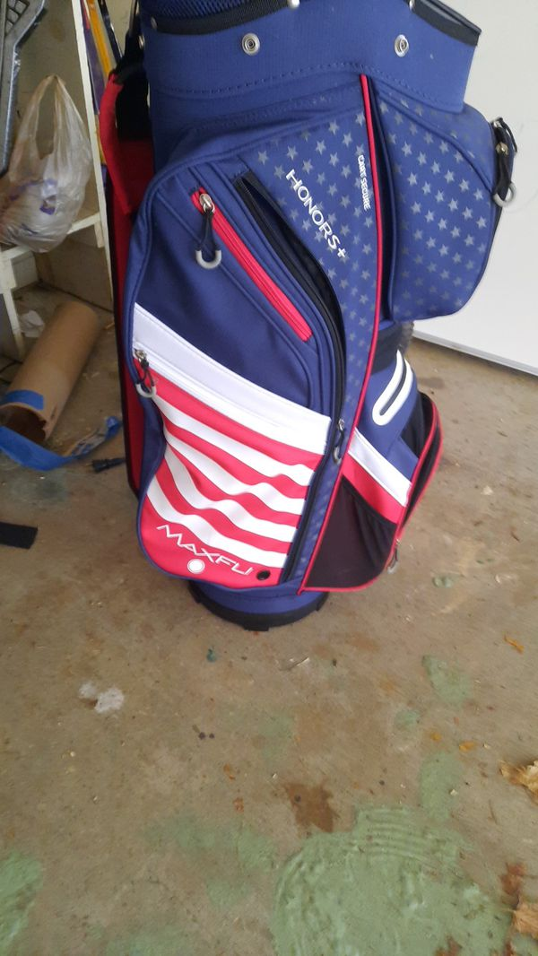 America honors + golf bag