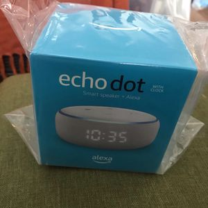 Alexa echo dot with clock for Sale in Savannah, GA